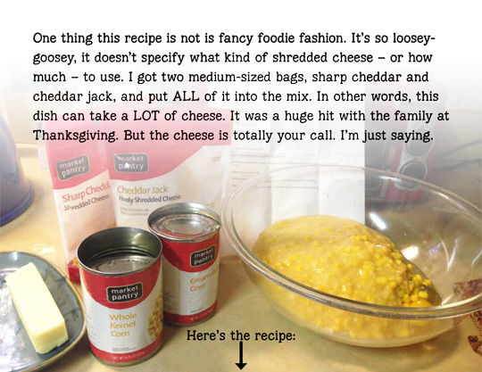 cooking,casserole,homestyle-cooking,recipe,cheese,family,Thanksgiving