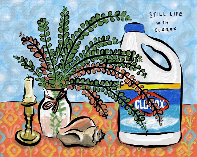 Still life Clorox