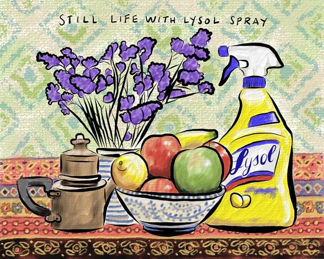Still life Lysol