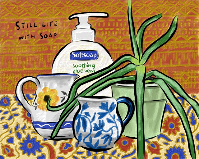 Still life soap