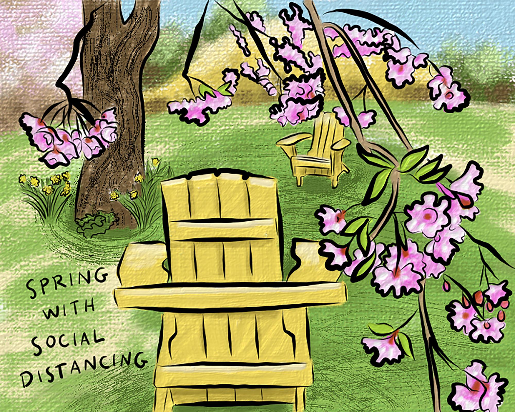 Still life spring